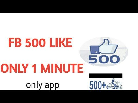 Facebook 500 liker Auto app live proof - (More Info on: http://LIFEWAYSVILLAGE.COM/videos/facebook-500-liker-auto-app-live-proof/)
