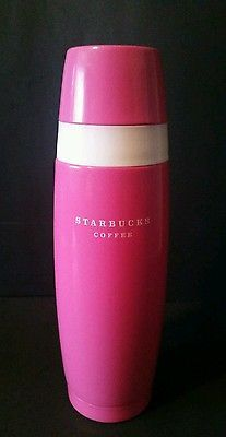 Starbucks Coffee Pink Marilyn Thermos Stainless Steel With Cap Mug 16 oz 2006