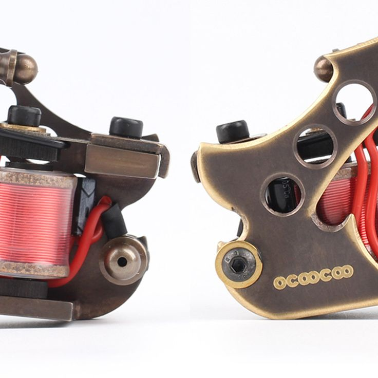 OCOOCOO T150A Pure Copper Shader Tattoo Machine Perfect Carving 10000 R/Minute at Banggood