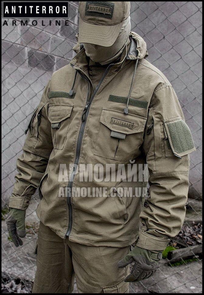 Куртка тактическая (ANTITERROR) Сoyote купить в Николаеве. Заказать Куртка тактическая (ANTITERROR) Сoyote за 1250 грн. Описания, фото, характеристики, доставка - АРМОЛАЙН - военная форма и снаряжение
