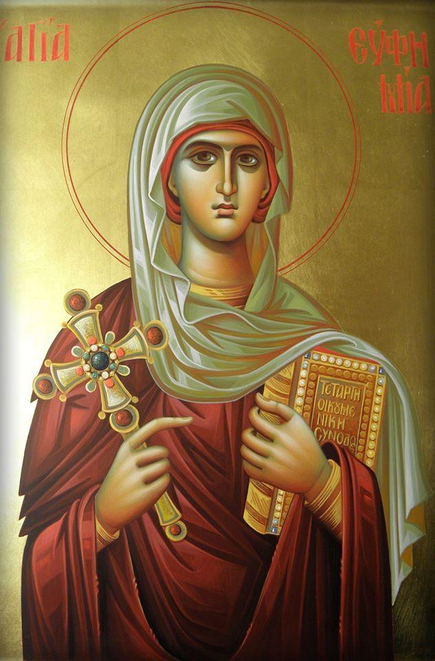 St. Euphemia of Chalcedon / Αγία Ευφημία
