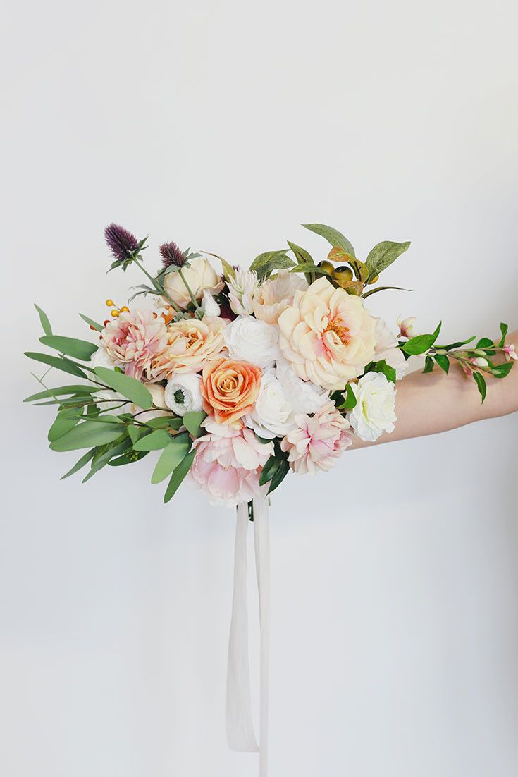 Gorgeous Wedding Bouquet Inspiration In 2020 Flower Bouquet Wedding Diy Wedding Bouquet Fake Flowers Elegant Wedding Flowers