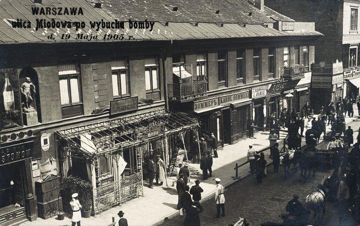 1905-1907 - Rewolucja w Królestwie Polskim, Warszawa - 1905 rok, stare zdjęcia