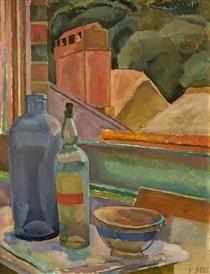 Window Still-Life - Ванесса Белл