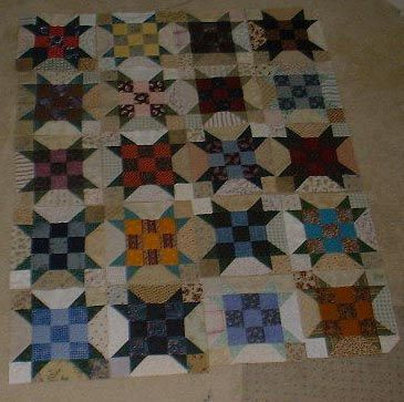 """Scrappy Sister's Choice! or what to do with an over flowing bin of 2 1/2"""" scrap strips! (Click HERE for printer-friendly version)         A..."""
