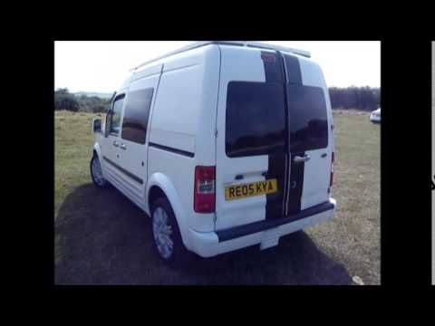 ford transit connect conversion pop up roof full all the way across bed mobile living. Black Bedroom Furniture Sets. Home Design Ideas