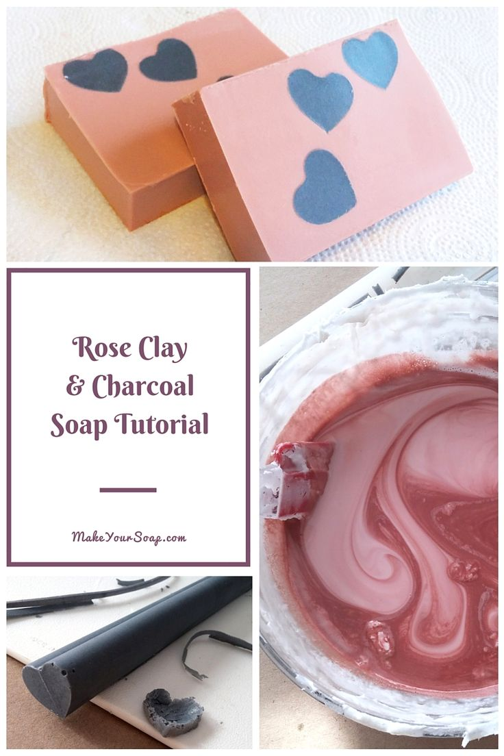 charcoal soap This facial soap recipe uses activated charcoal and bentonite clay with a base of coconut oil, olive oil, castor oil and essential oils.