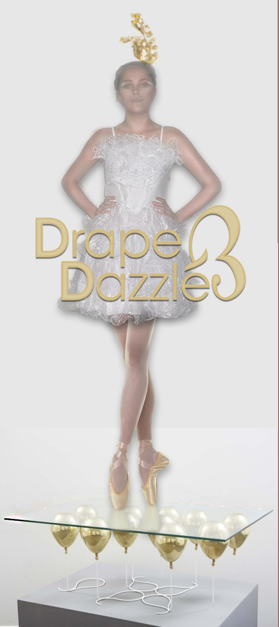#White corset #Ballerina with pencil straps, Size:8-10 $29.95.Visit @DrapeandDazzle or our Facebook #fashion