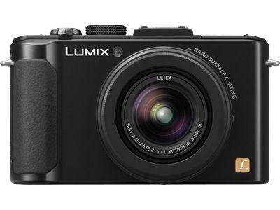 Panasonic DMC-LX7K - LUMIX LX7 10.1 Megapixel Digital Camera