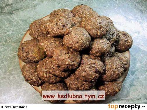 Vločkové sušenky - zdravé mlsání