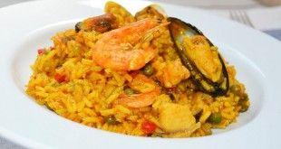 ¿Cómo preparar arroz con mariscos?
