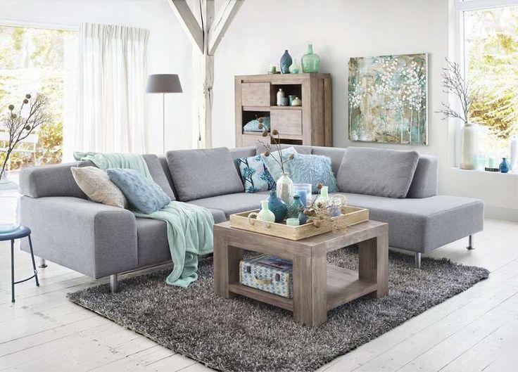 25 beste idee n over hoekbank op pinterest comfortabele banken - Woonkamer met hoekbank ...
