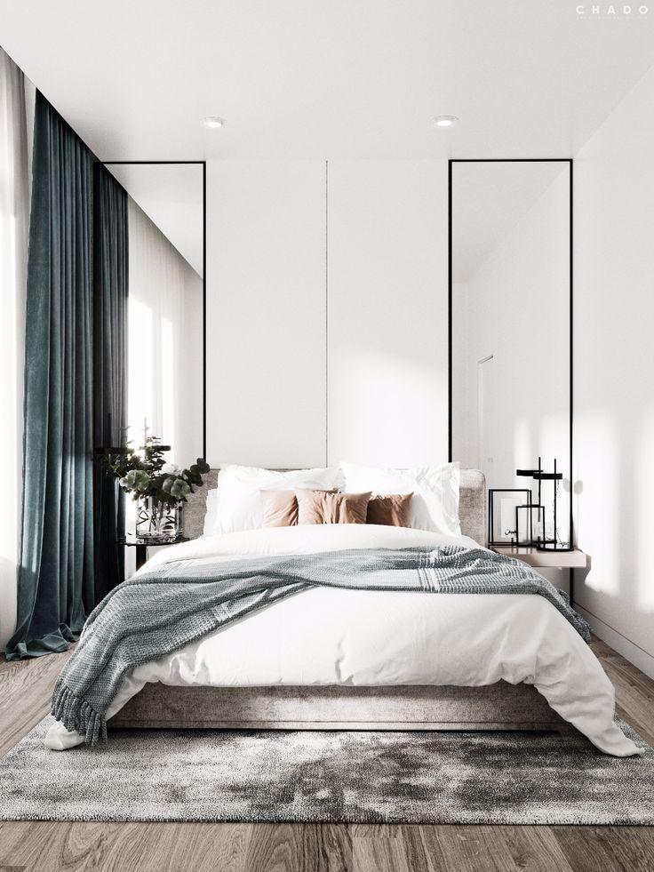 Träumen Sie weg minimalistische Zimmer Ein aufkommender
