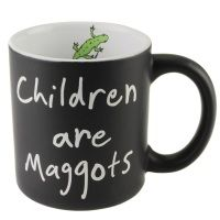 "Matilda The Musical | Matilda Mug ""Children are Maggots"" | RSC Shop"