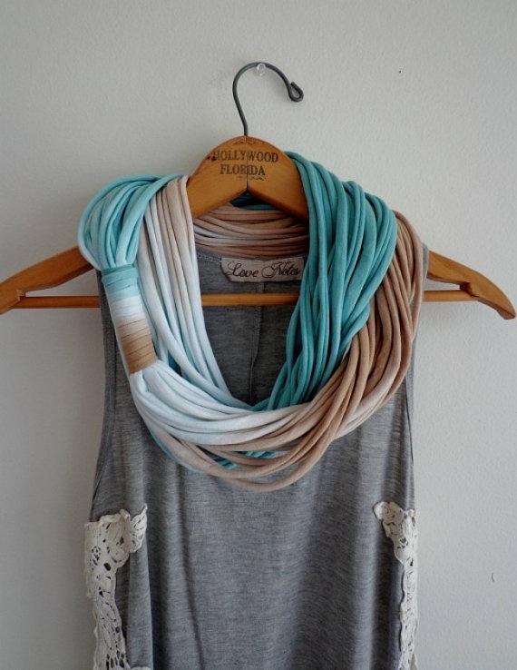 String TheoryMulti string infinity scarf in by KillPrettyPlease, $35.00