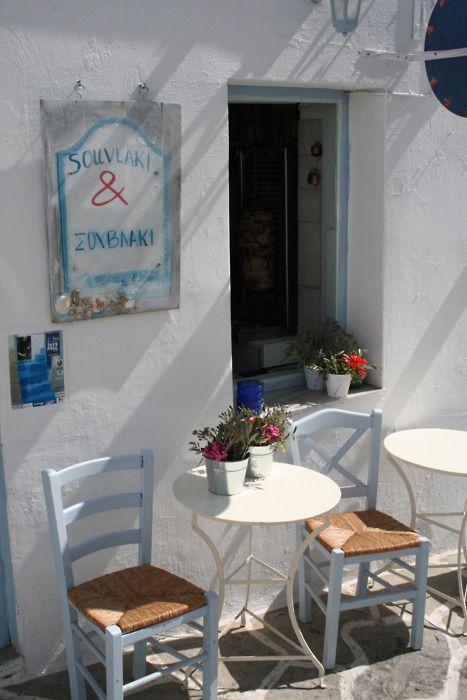 Grèce... souvlakia ............ mmmmm...... How much I ADORED this country !!! .....