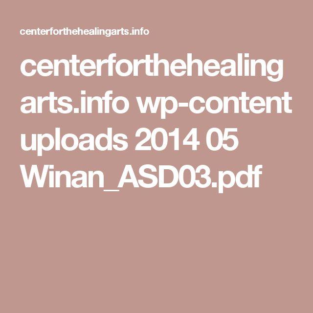 centerforthehealingarts.info wp-content uploads 2014 05 Winan_ASD03.pdf
