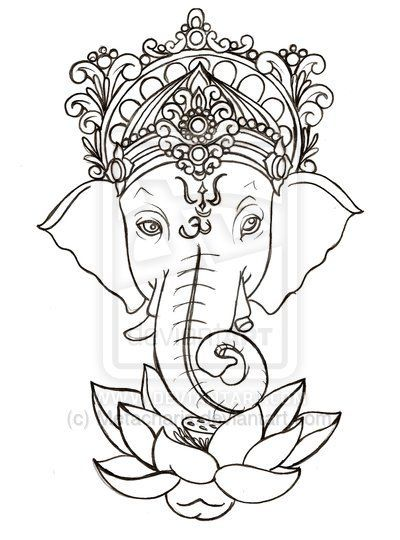 The 25 Best Ideas About Ganesha Tattoo On Pinterest