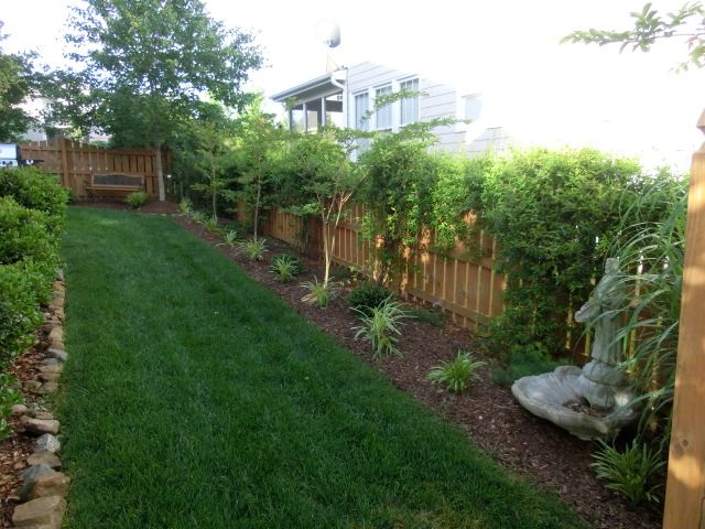 50 best play in the dirt images on pinterest garden for Small fenced in patio ideas