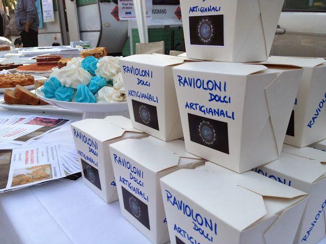 ravioloni dolci di frolla e marmellata box - fiera d'autunno - italian food, love Italy