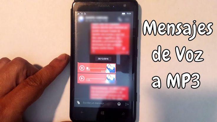 Recuperar Mensajes de voz WhatsApp en MP3 | Trucos | Windows 10