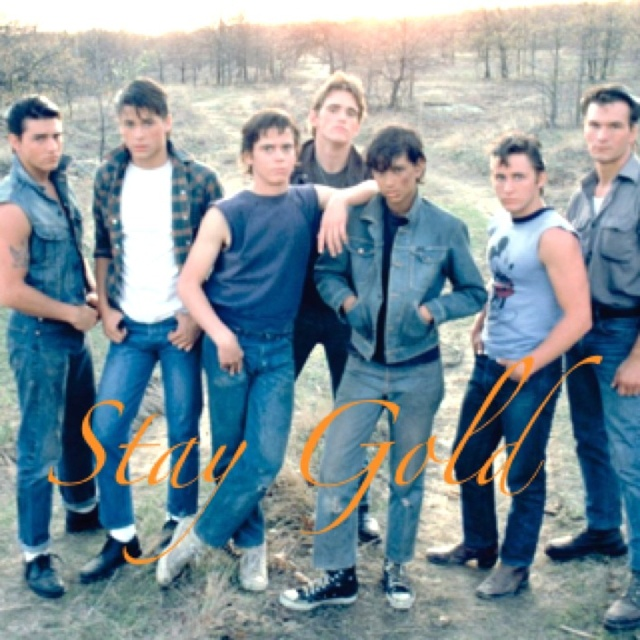 What Page Number Is The Quote Stay Gold Ponyboy On: 1000+ Images About The Outsiders On Pinterest