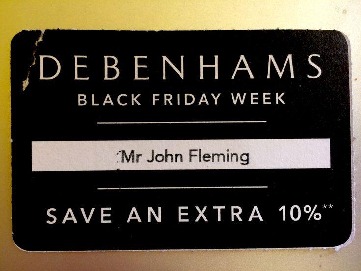 Debenhams' Black Friday discounts = dodgy dealings and PR disasterama