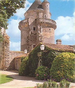 The XIIIth century Chateau d'Apremont - Vendee, Pays de la Loire, where my father's family comes from!