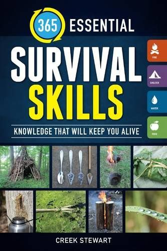 365-Essential-Survival-Skills-Knowledge-that-will-keep-you-aliveDoomsday prepping, prepper, Survival books, Doomsday prepper books, prepper books, bug out books , survival skills book, survival skills