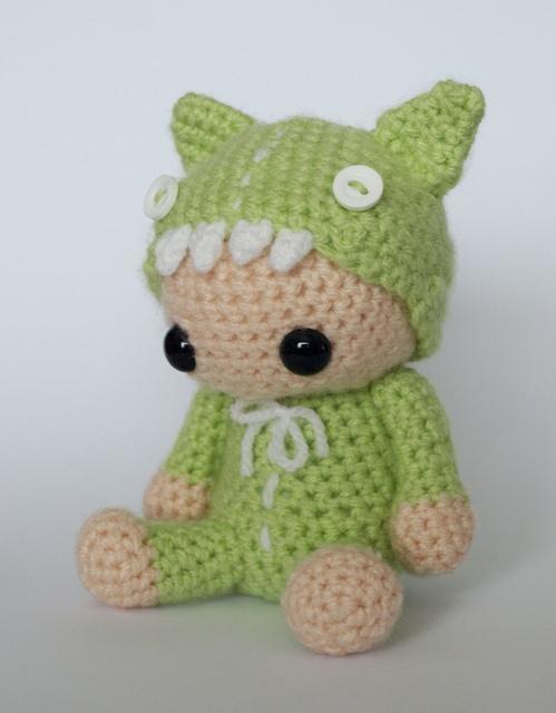 Rawr - Amigurumi Crochet Toy