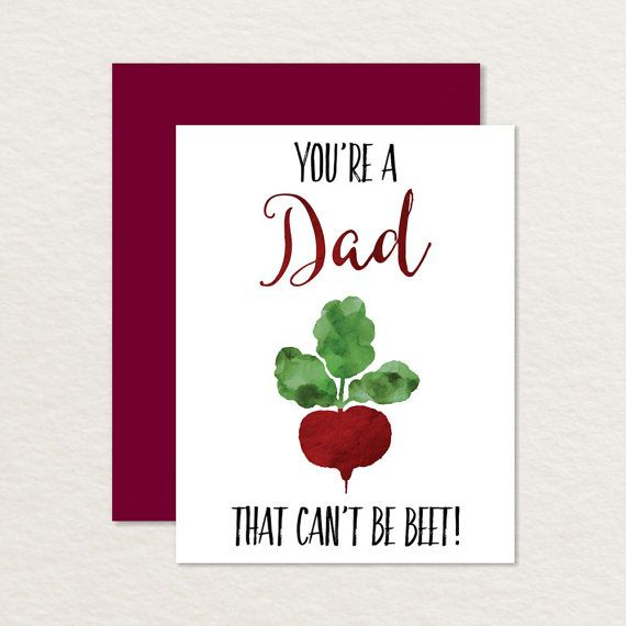 Printable Father's Day Card / You're a Dad that Can't by Brainooli