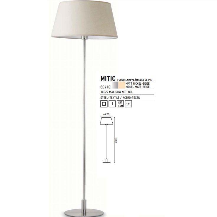 Φωτιστικά Δαπέδου : ΔΑΠΕΔΟΥ MITIC ΜΠΕΖ ( Zambelis 68418 )