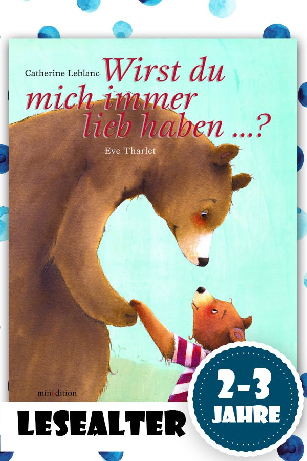 Ein Buch für kleine Kinder, das so schön ist, dass einem fast die Tränen kommen.
