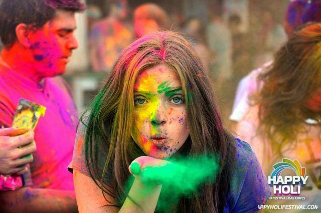 Festival das Cores Happy Holi chega pela primeira vez a Portugal. Porto 14 julho, Lisboa 8 setembro 2013 | Portugal | Escapadelas ®