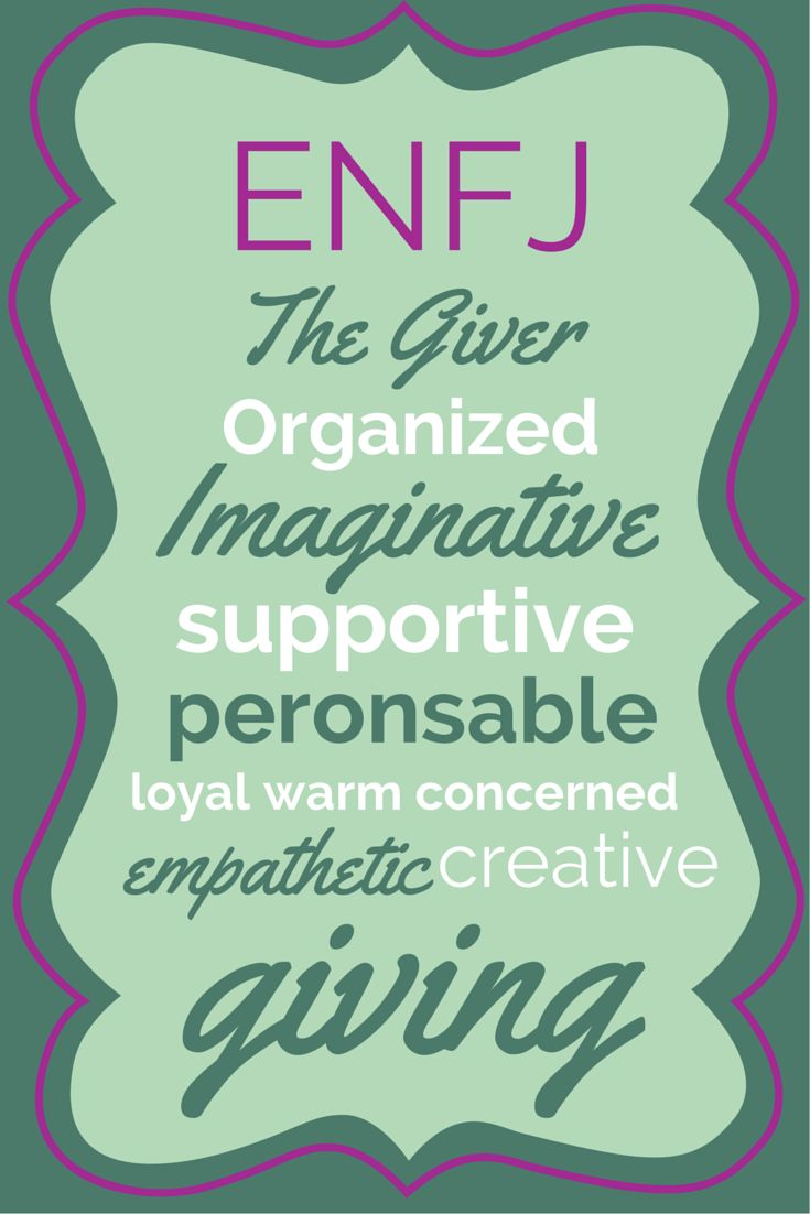 ENFJ - Myers Briggs Personality Test