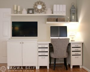 Master bedroom office combo