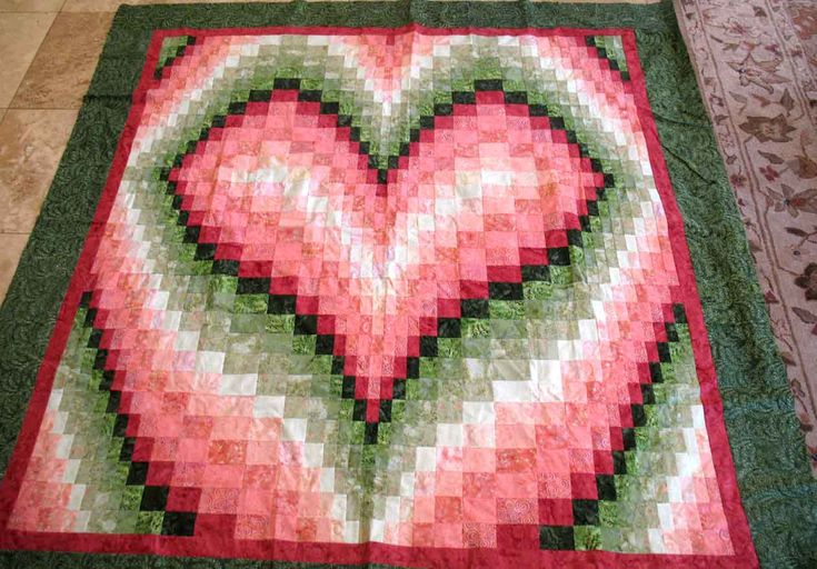 Bargello heart! I am going to make this someday!