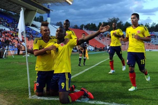 Colombia venció 10 a Paraguay en debut en el Sudamericano