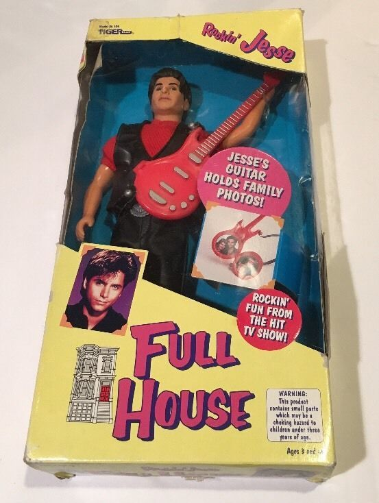 TIGER TOYS FULL HOUSE TV SHOW ROCKIN' JESSE DOLL NRFB JOHN STAMOS #TigerTOYS #DollswithClothingAccessories