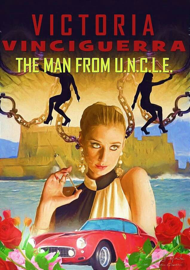 The man from u.n.c.l.e. Victoria Vinciguerra Italy 1960s