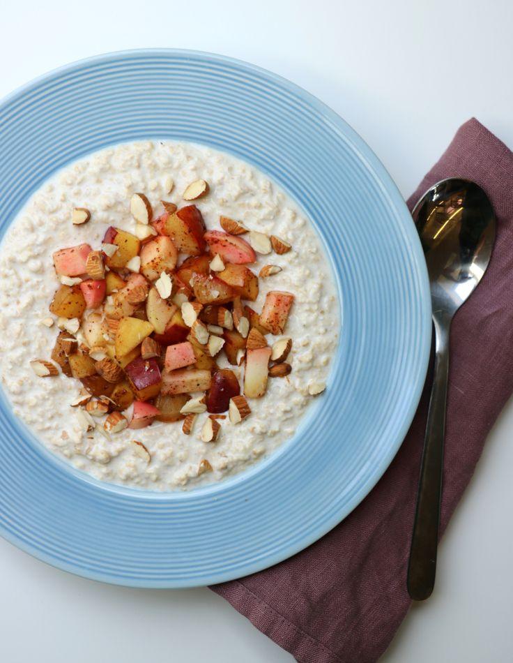 Kjøleskapsgrøt - den perfekte kvardagsfrukosten