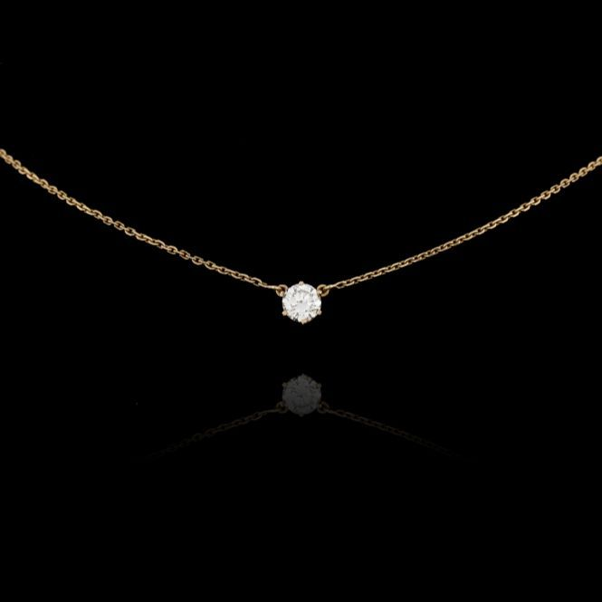 gold legacy diamond products stud arrow necklace white tara by