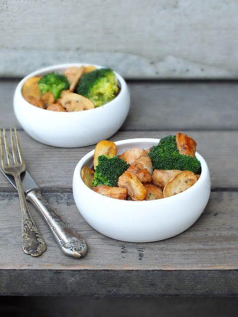 smakołyki alergika: kurczak orientalny z brokułem