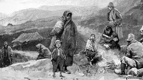 the great famine in ireland between 1845 and 1849 Lessons from the great irish famine [1845-1850] the causes of starvation the great irish famine, as it is often called, is so deeply imbedded in irish.
