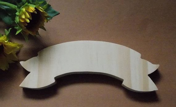 Sign Small Unfinished Wood Plaque