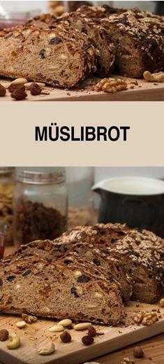 Eines meiner liebsten Brotrezepte. Müslibrot schmeckt super mit süßen und deftigem Brotbelag. Es eignet sich auch super als Mitbringsel und Geschenk aus der Küche.