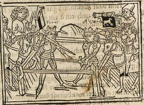 Alexander <III., Makedonien, König>; Hartlieb, Johannes [Übers.] Augsburg: Johann Bämler, 28. Juni 1473 inc iii 23 Folio 162