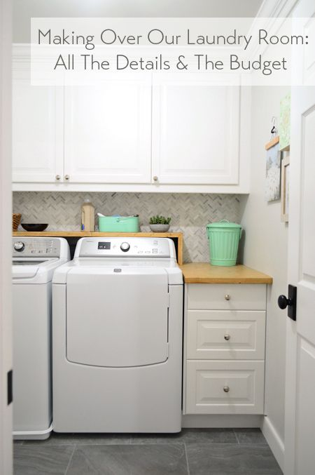 Woot our big laundry room renovation is done ikea cabinets tile and white cabinets - Fabulous laundry room cabinets ikea ...
