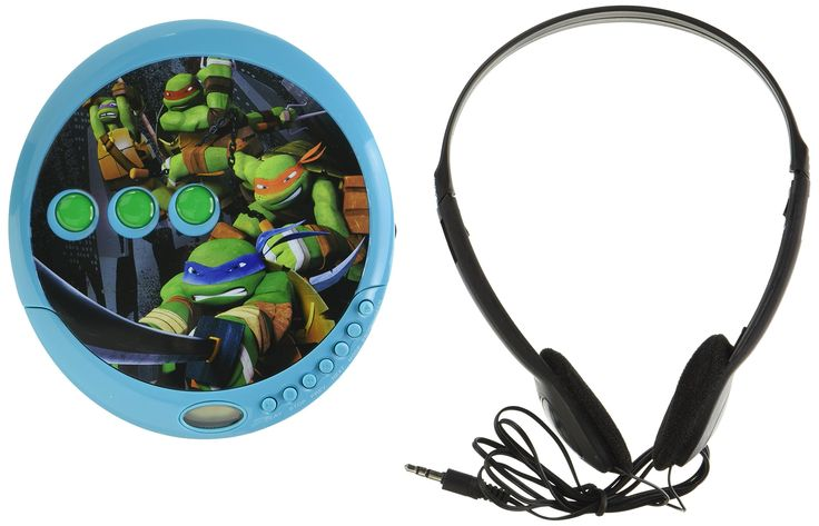 Teenage Mutant Ninja Turtles CD Player (37065-tru)
