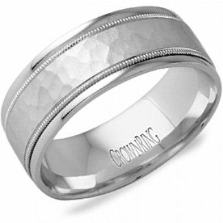 Crown Ring - Collections Wedding Bands Carved Lb 2038 M10